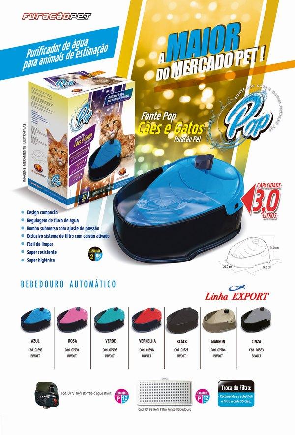 Fonte Bebedouro para Gato